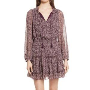 Like New Rebecca Minkoff Rosemary Leopard Dress